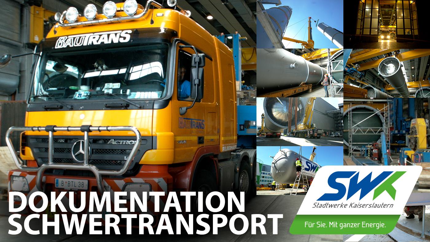 SWK Stadtwerke Kaiserslautern Schwertransport | Edgar Gerhards