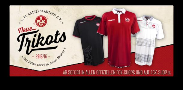 1. FC Kaiserslautern FCK Trikot-Spot 2015/2016